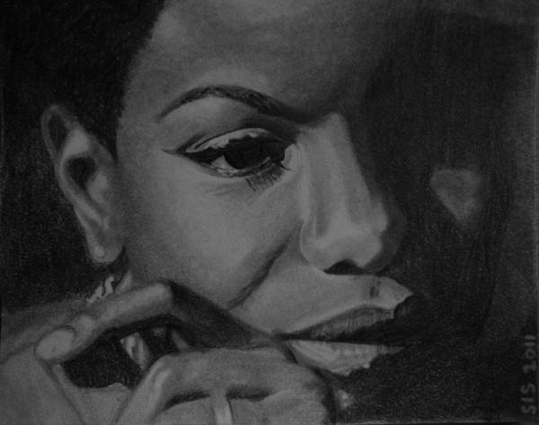 Nina Simone by Sinea94